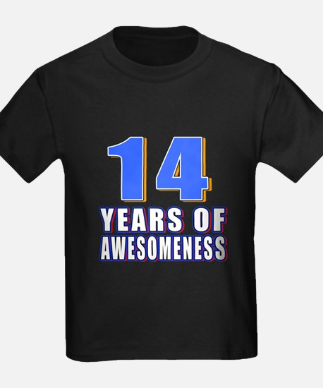 14 Years Of Awesomeness T
