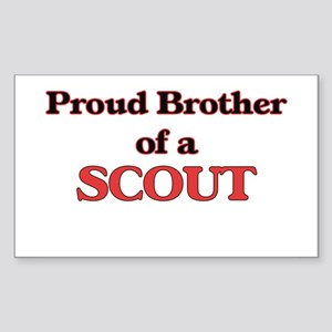 Proud Brother of a Scout Sticker