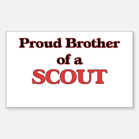 Proud Brother of a Scout Decal