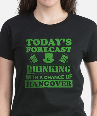 Today's Forecast: Drinking T-Shirt