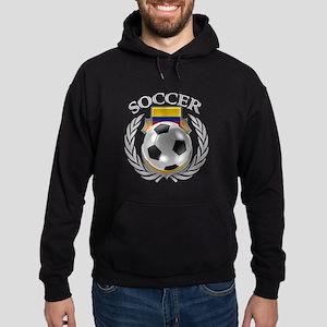 Colombia Soccer Fan Hoodie (dark)