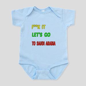 Let's go to Saudi Arabia Infant Bodysuit