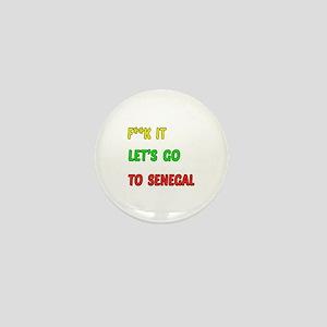 Let's go to Senegal Mini Button