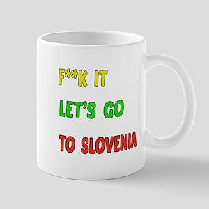 Let's go to Slovenia Mug