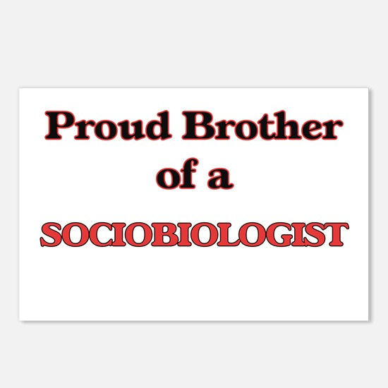 Proud Brother of a Sociob Postcards (Package of 8)