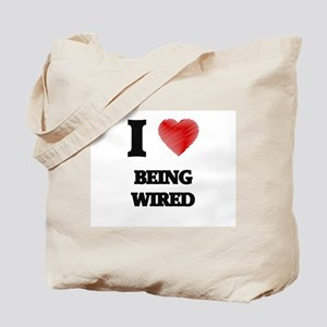 being wired Tote Bag