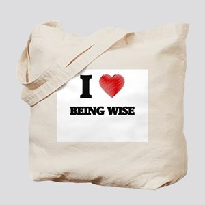 being wise Tote Bag