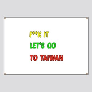 Let's go to Taiwan Banner