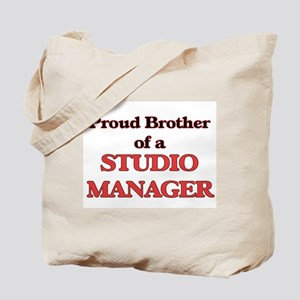 Proud Brother of a Studio Manager Tote Bag