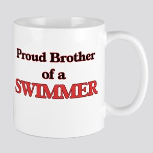 Proud Brother of a Swimmer Mugs