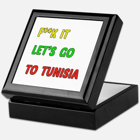 Let's go to Tunisia Keepsake Box