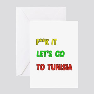 Let's go to Tunisia Greeting Card