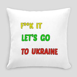 Let's go to Ukraine Everyday Pillow