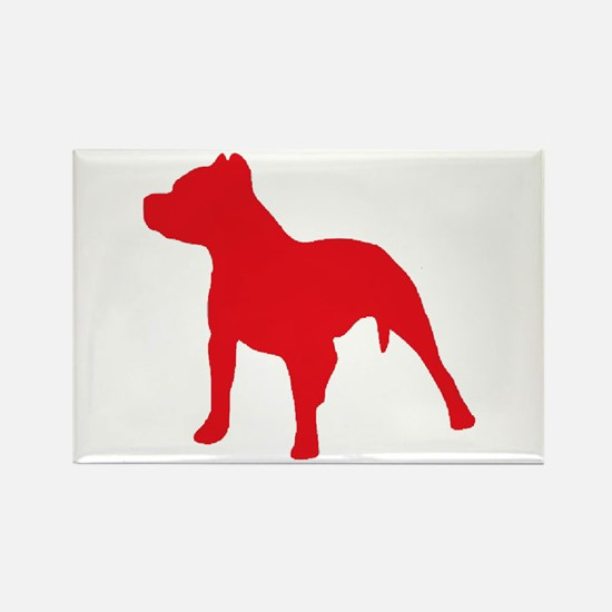 Pitbull Red 2 Magnets