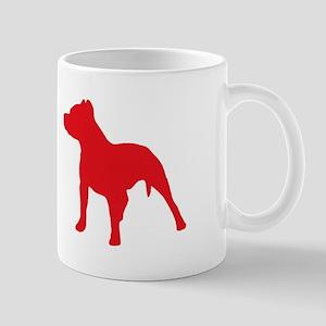 Pitbull Red 2 Mugs