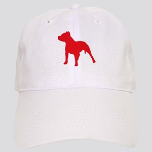 Pitbull Red 2 Baseball Cap