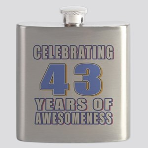 43 Years Of Awesomeness Flask