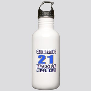 21 Years Of Awesomenes Stainless Water Bottle 1.0L