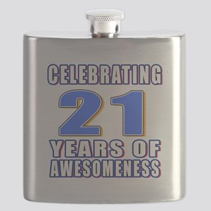 21 Years Of Awesomeness Flask