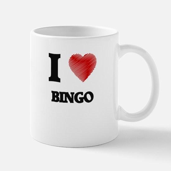 I Love BINGO Mugs