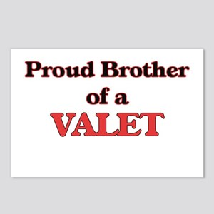 Proud Brother of a Valet Postcards (Package of 8)
