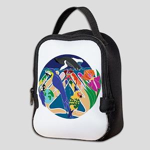 Tropical Creation Neoprene Lunch Bag