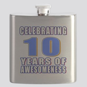 10 Years Of Awesomeness Flask