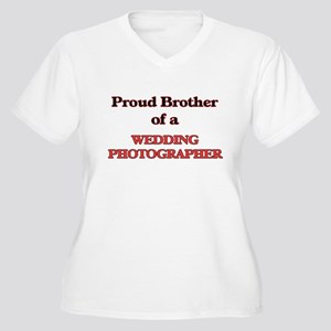 Proud Brother of a Wedding Photo Plus Size T-Shirt