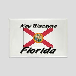 Key Biscayne Florida Rectangle Magnet