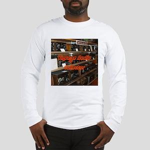 Vintage Radio Collector Long Sleeve T-Shirt