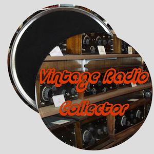 Vintage Radio Collector Magnet