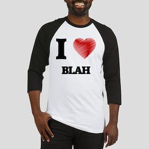 I Love BLAH Baseball Jersey