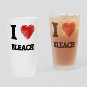 I Love BLEACH Drinking Glass