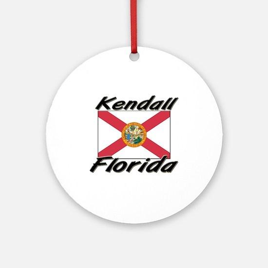 Kendall Florida Ornament (Round)