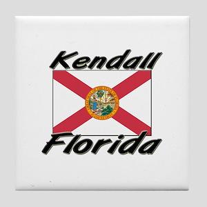 Kendall Florida Tile Coaster