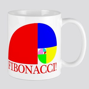 Fibonacci! Golden Ratio Mugs