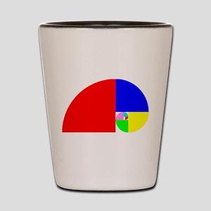 Fibonacci! Golden Ratio Shot Glass