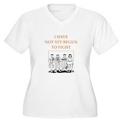 badminton Plus Size T-Shirt