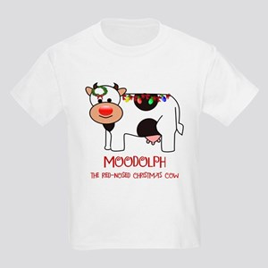 MOODOLPH THE RED-NOSED CHRISTMAS COW T-Shirt