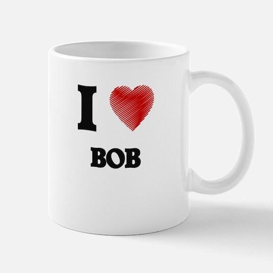 I Love BOB Mugs
