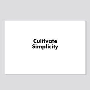 Cultivate Simplicity Postcards (Package of 8)