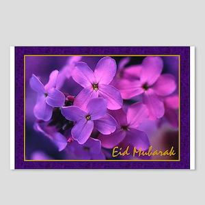 Violets - Eid Mubarak Postcards (Package of 8)