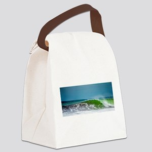Costa Rica Wave Canvas Lunch Bag