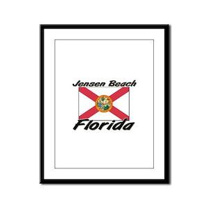Jensen Beach Florida Framed Panel Print