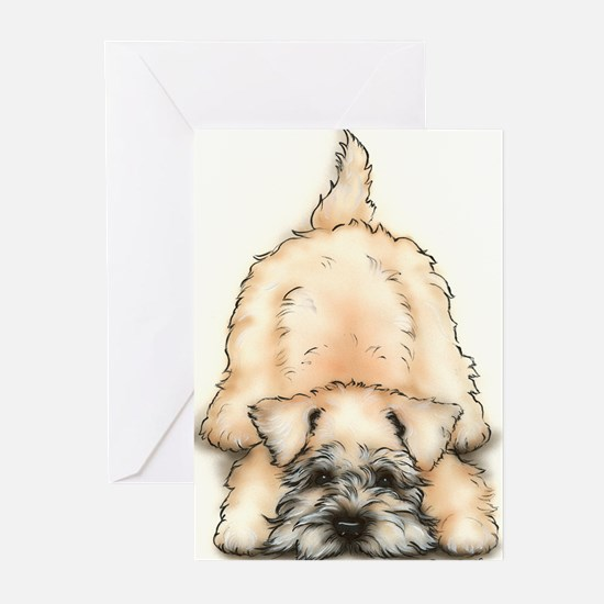 Cute Wheaten terrier Greeting Cards (Pk of 20)