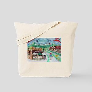 Loveland, Ohio - Lightened Tote Bag
