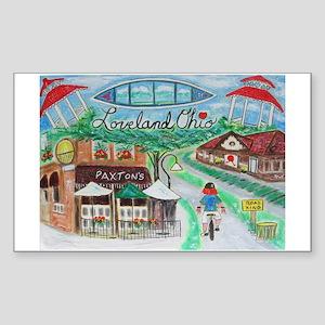 Loveland, Ohio - Lightened Sticker