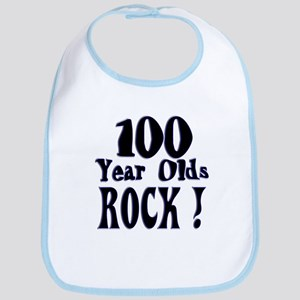 100 Year Olds Rock ! Bib