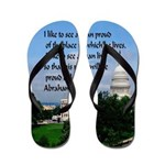 National Pride Flip Flops