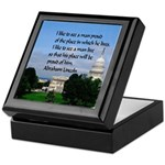 National Pride Keepsake Box